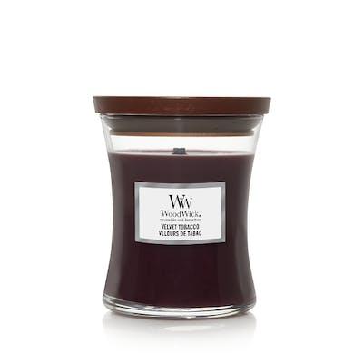 Woodwick valvet tobaco