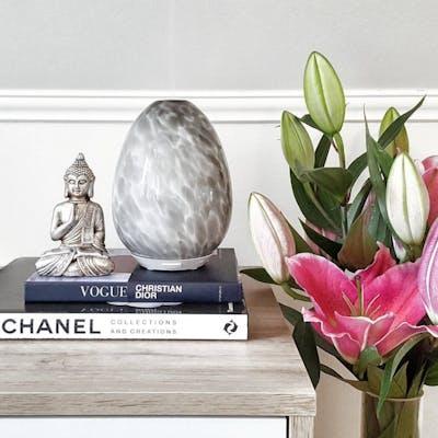 Aroma diffuser marmor grå