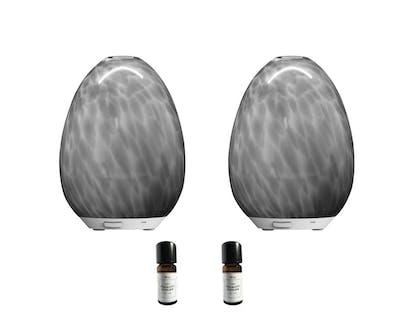 Aroma Diffuser marmor grå - Sthlm Fragrance Supplier