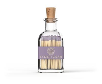 Eldstickan lila lavendel