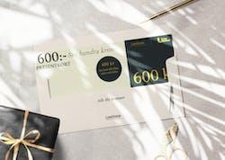 sex hundra kronor - presentkort