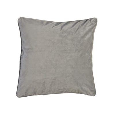 Velvet Kuddfodral - Ljusgrå 45x45