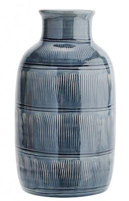 Blå keramik vas ifrån Madam Stoltz