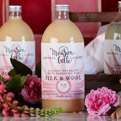 Maison belle tvättmedel, fintvätt, doft av jasmin, mandarin, citron och ros