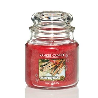 Yankee Candle Sparkling Cinnamon - Medium jar