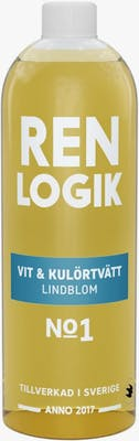 Ren logik tvättmedel vit & kulörtvätt - Lindblom