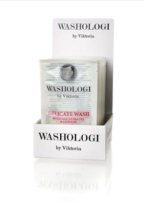Washologi reseförpackning, tvättmedel, fintvätt
