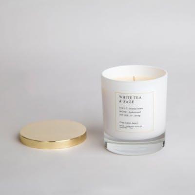 Doftljus |White tea & sage - Sthlm Fragrance supplier