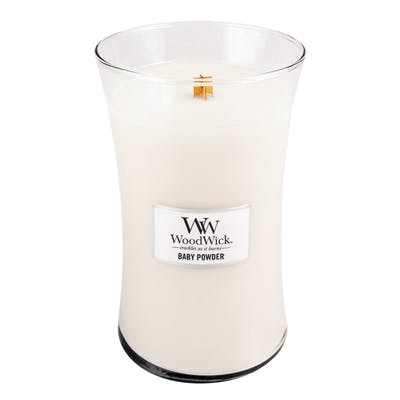 WoodWick Baby Powder – Large