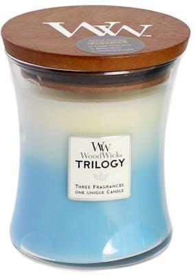 WoodWick trilogy Fresh & Clean - Medium