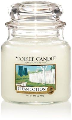 Yankee Candle Clean Cotton - Medium jar