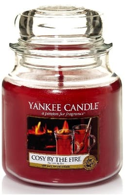 Yankee Candle Cozy by the fire - Medium jar