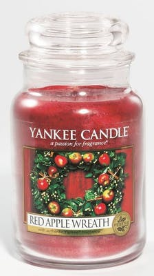 Yankee Candle Red Apple Wreath - Large jar