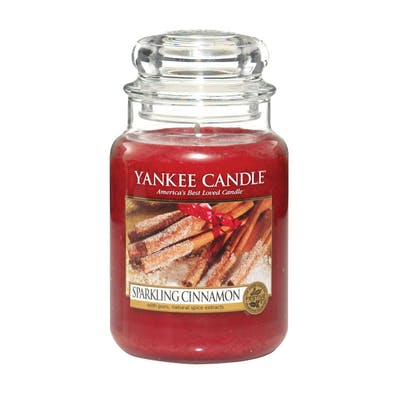 Yankee Candle Sparkling Cinnamon - Large jar